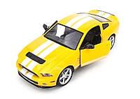 Машинка на радиоуправлении 1к14 Meizhi лицензированный Ford GT500 Mustang. желтый - 139604