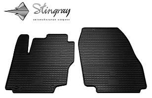 Ford Mondeo  2013- Комплект из 2-х ковриков Черный в салон