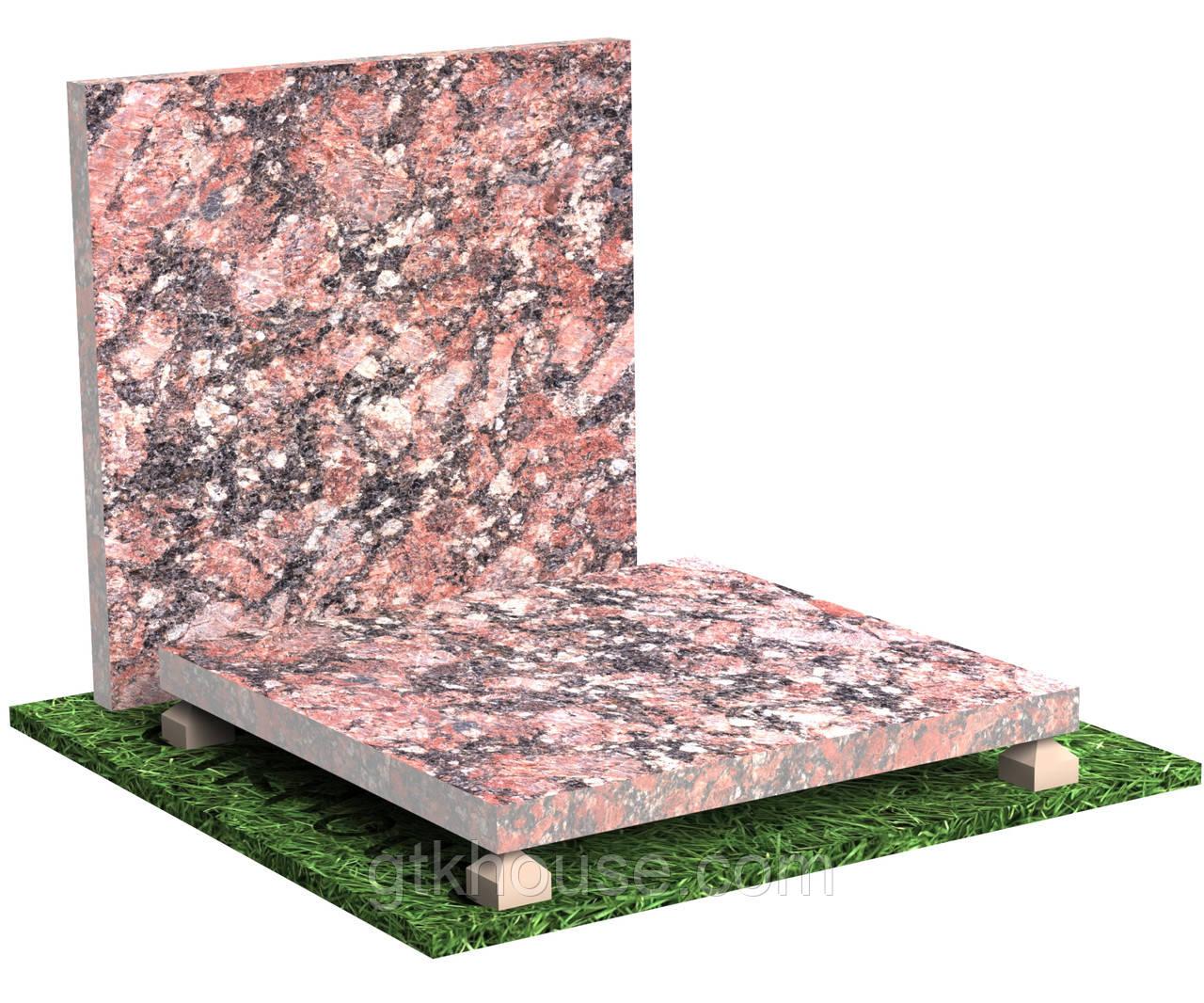 Плитка гранітна термооброблена Капустинська