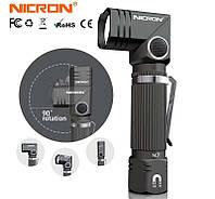 Фонарь NICRON N7 на светодиоде SAMSUNG LH351B поворотный универсальный фонарик ліхтарик  EDS карманный