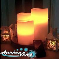 Светодиодные свечи набор 3 шт. Световой декор. Светодиодные светильники от Aurorasvet., фото 1