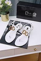 Босоножки Dolce & Gabbana 80001 WHITE