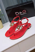 Босоножки Dolce & Gabbana 87124 ROSSO PAPAVERO