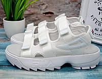 ✅ Босоножки женские Fila Disruptor на платформе Фила сандали