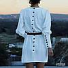 Сукня з поясом, тканина: костюмка армані легка літня. Розмір:С,М. Різні кольори. (6671), фото 2
