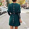 Сукня з поясом, тканина: костюмка армані легка літня. Розмір:С,М. Різні кольори. (6671), фото 3