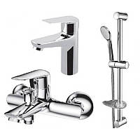 Набор смесителей VOLLE NEMO ( 3 in 1 ) для ванны (15142100+15141100+15146100)