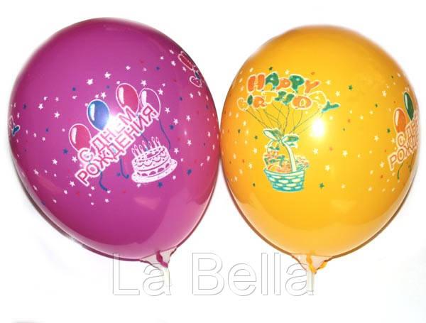 Воздушные шары Gemar Пастель ассорти АD80HB(рисунок)