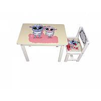 Детский столик состульчиком «Овечки (sheeps)» BSM1-02