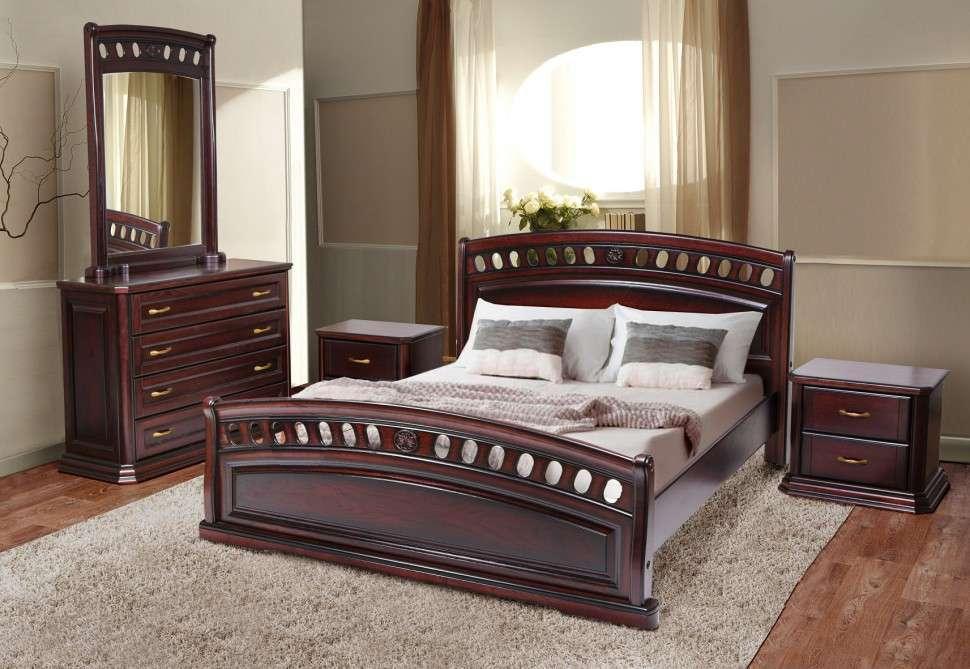 Дерев'яне ліжко Мікс Меблі Флоренція , 1800*2000
