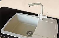 Кухонная мойка Adamant OPTIMAKS 08 780X500X200 IVORY