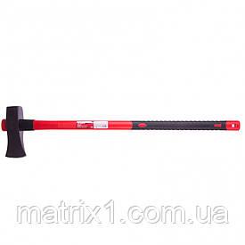 Колун, 2700 г, фибергласовое обрезиненное топорище 900 мм// MTX