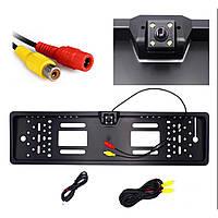 🔥✅ Камера заднего вида в рамке номерного знака SmartTech A58 JX9488A