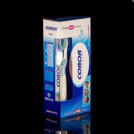 Зубная щетка Cobor Deep Clean, голубая(Д1-14/15)