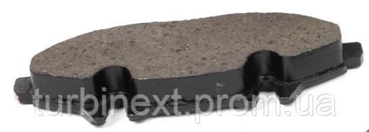 Колодки тормозные (передние) MB Vito (W639) 03- AUTO STANDART AST007