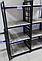 Стеллаж Лонг 2 полки 700*1100*270 серия Квадро от Металл дизайн с доставкой, фото 8