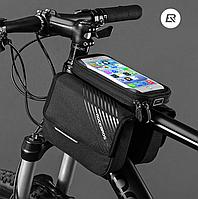 Велосумка на раму (чехол для телефона) RockBros. Оригинал! 6 дюймов 030