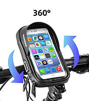 Велосибедная сумка для телефона на раму (чехол для телефона) RockBros с козырьком от солнца. Original!