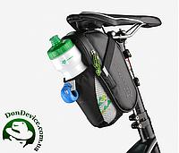 Велосумка подседельная  RockBros с сеточкой креплением для бутылки. Original!