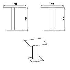 Кухонный стол КС-7 Компанит, фото 3