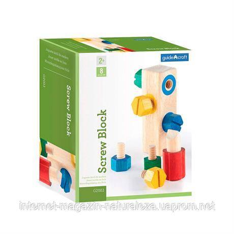 Игровой набор Manipulatives Блок с винтами