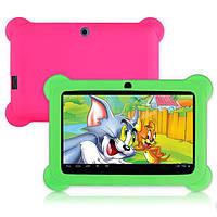 """Детский Планшет KidsPad 7455 QuadCore, 7"""" + Защитный чехол"""