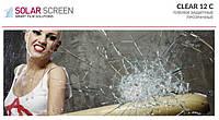 Защитная прозрачная пленка Solar Screen Clear 12 C 310 мкр. светопропускаемость 82% 1.524 м
