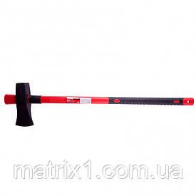 Колун, 3600 г, фибергласовое обрезиненное топорище 900 мм// MTX