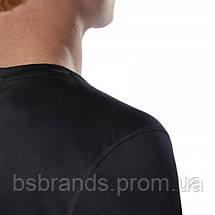 Спортивная мужская футболка Reebok RUN ESSENTIALS (АРТИКУЛ:DU4298), фото 3