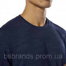 Мужская спортивная футболка Reebok TRAINING ESSENTIALS MARBLE GROUP (АРТИКУЛ: DU3780 ), фото 3