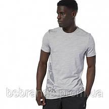 Мужская спортивная футболка Reebok TRAINING ESSENTIALS MARBLE GROUP (АРТИКУЛ: DU8281 ), фото 2
