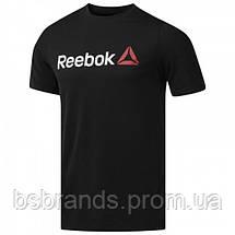 Спортивная мужская футболка Reebok LINEAR READ (АРТИКУЛ: CW5376), фото 2