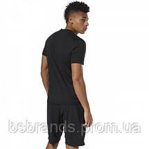 Спортивная мужская футболка Reebok LINEAR READ (АРТИКУЛ: CW5376), фото 3