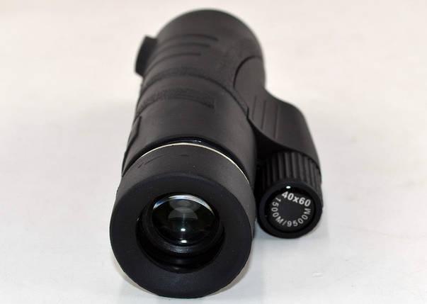 Монокуляр 5041 (40x60) оптичний прилад для спостереження, фото 2