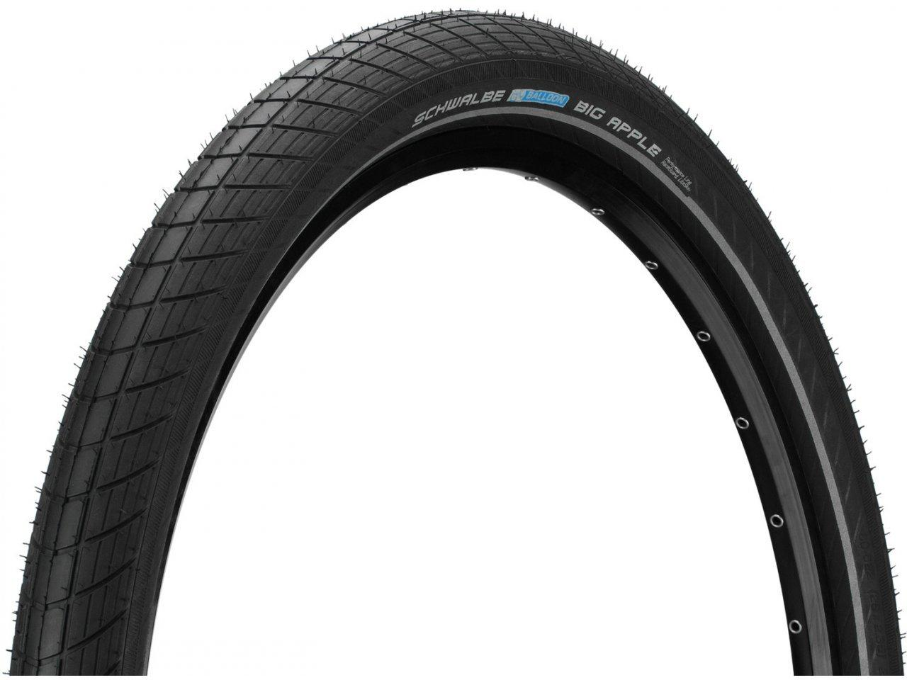Покрышка Schwalbe Big Apple Perfomance RaceGuard 28x2.0˝