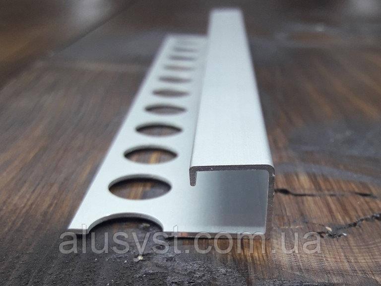 Квадратный профиль 11х11мм для плитки , длинна 2,7м