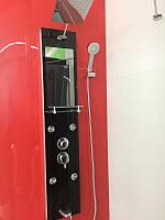 Гидромассажная панель Golston GV-7866-00 (чёрная), 1300х300х70 мм