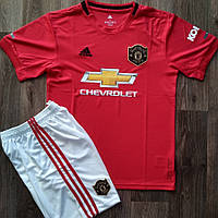Футбольная форма Манчестер Юнайтед сезон 2019-20