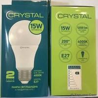 Лампа светодиодная CRYSTAL LED A70 15W E27 4000K