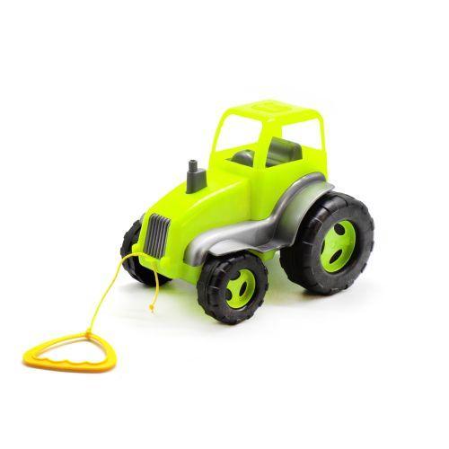 Трактор пластиковый (салатовый) 5012 sco