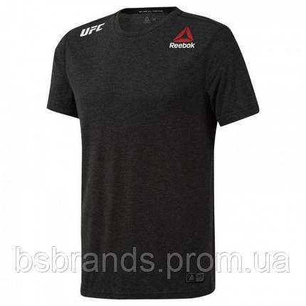 Мужская спортивная футболка Reebok UFC FIGHT NIGHT BLANK WALKOUT (АРТИКУЛ: DM5164 ), фото 2