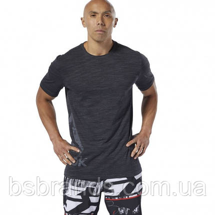 Спортивная футболка Reebok TRAINING ESSENTIALS MARBLE GROUP (АРТИКУЛ:DU3746), фото 2