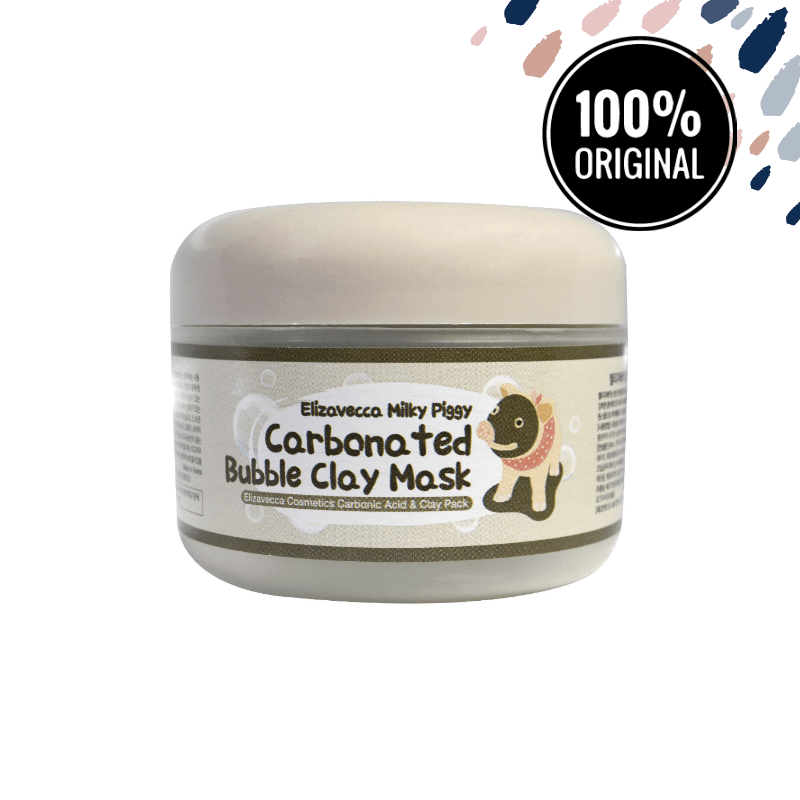 Пенящаяся маска для лица ELIZAVECCA Milky Piggy Carbonated Bubble Clay Mask, 100 мл