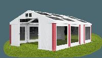 Свадебный шатер 4х7х2/3.15 м 580 г/м2 Окна в крыше