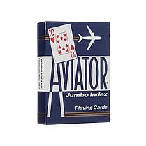Карты игральные   Aviator Jumbo Index, фото 3