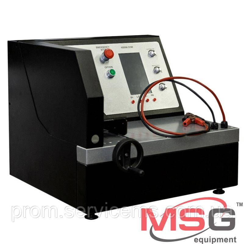 Стенд для диагностики 12-вольтовых автогенераторов MSG MS006 ток нагрузки 50А   COM, P-D, DFM, D+, RLO, C, SIG