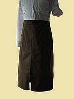Фартук для официантов коричневый, фото 1