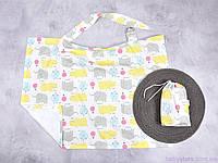 Накидка для кормления грудью + сумочка-чехол, Зоопарк, фото 1