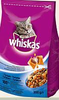 Сухой корм для кошек Whiskas Вискас с тунцом, 300 г