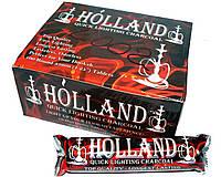 Уголь для кальяна Holland с-002